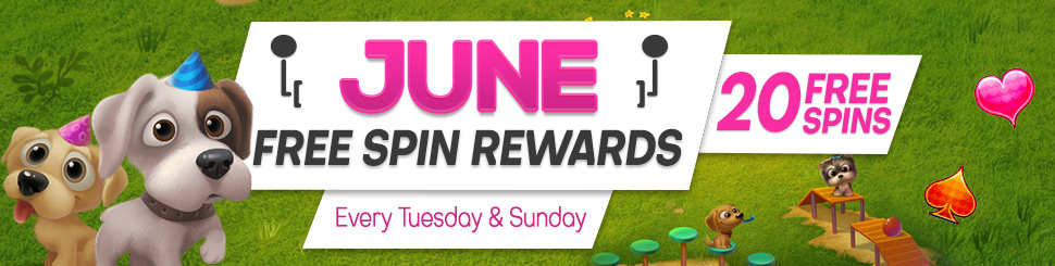June Free Spin Rewards