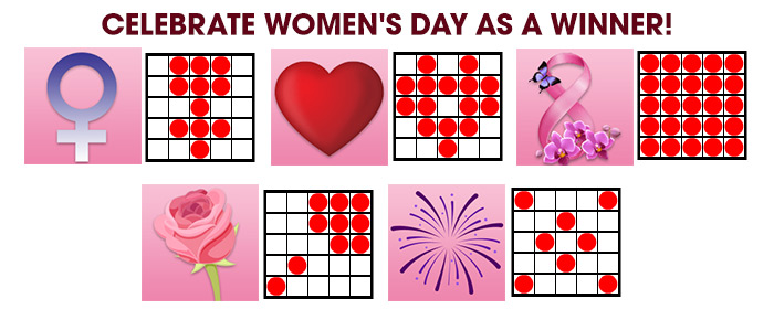 Women's Day Bingo